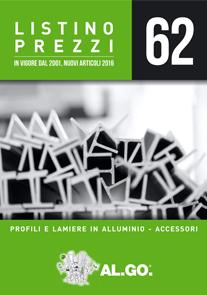 Listino profilati alluminio for Listino prezzi infissi in alluminio