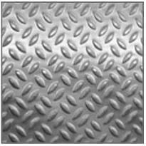 Lamiere alluminio mandorlate e millerighe  AL.GO. ALLUMINIO