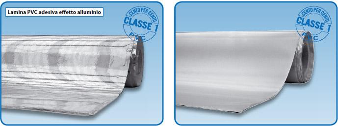 Lamiere alluminio mandorlate e millerighe al go alluminio - Pellicola adesiva a specchio ...
