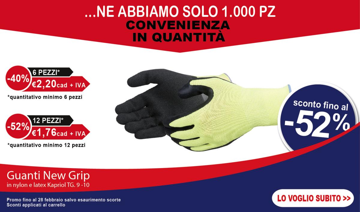 Offerta guanti new Grip Kapriol