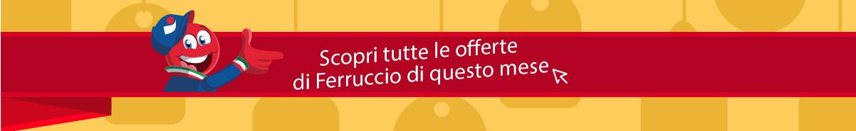 Scopri tutte le offerte di Ferruccio di questo mese!
