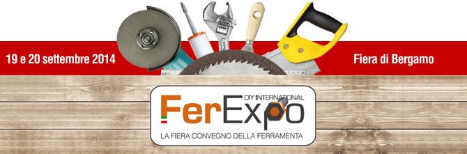 Saremo presenti a Ferexpo 2014