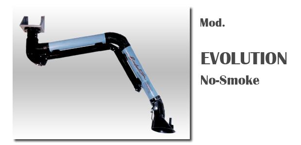 Evolution suction arm