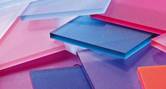 pannelli plexiglas colorato