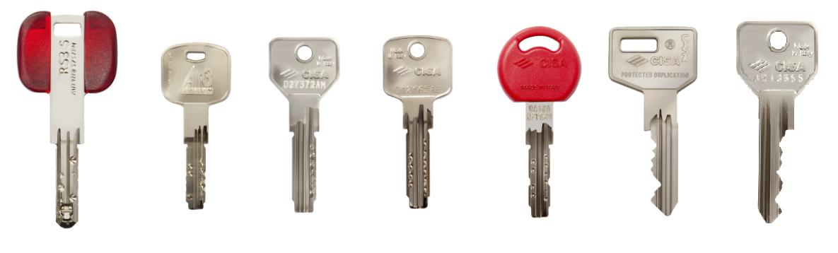 Duplicazione chiavi emme bi - Cilindro europeo cisa 5 chiavi ...