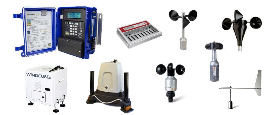Anemometri - data logger - LIDAR - SODAR - Minieolico